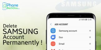 Delete Samsung account in 2020 - how it works?