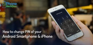 How to change the PIN of your Android smartphone and iPhone?