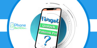 how to unlock forgotten pattern,