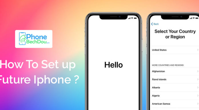 How to Set up your future iPhone