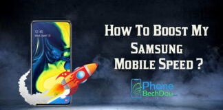 How to boost my Samsung mobile speed