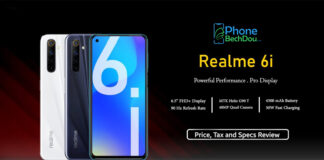Realme 6i review & price in Pakistan (pta tax on 6i Realme)