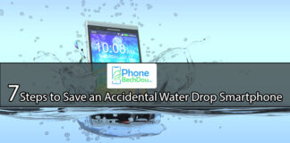 7 Steps to Save an Accidental Water Drop Smartphone