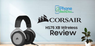 Corsair hs75 xb Wireless Review