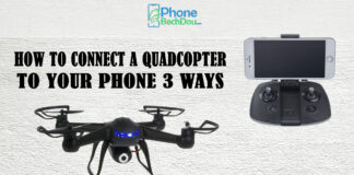 CONNECT A QUADCOPTER TO YOUR PHONE