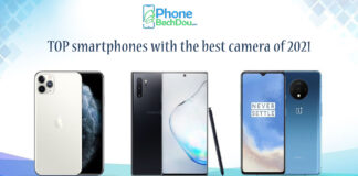 TOP smartphones with the best camera of 2021