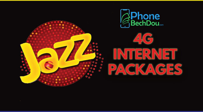 jazz internet Packages in 2021