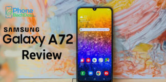 Samsung A72 review