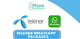 Telenor WhatsApp packages