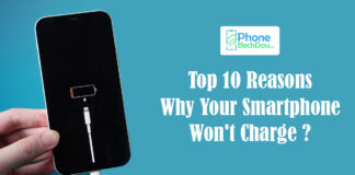 Your Smartphone Won't Charge