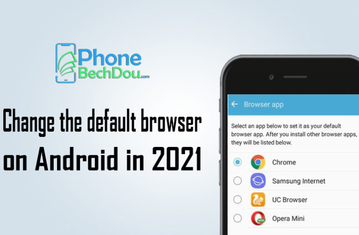 change the default browser on Android