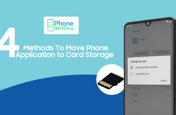 4 Methods to Move Phone Application to Card Storage in 2021