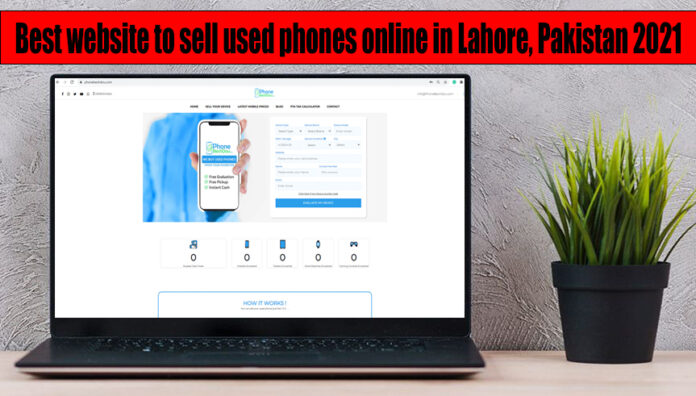 sell used phones online in Lahore